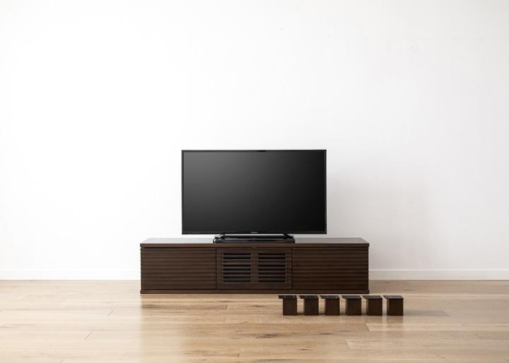 ルーバー・テレビボード/キャビネットv02用脚:画像7