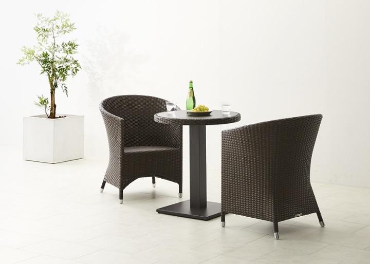 ガーデン・テーブルv02 650 セット 椅子2脚:画像6