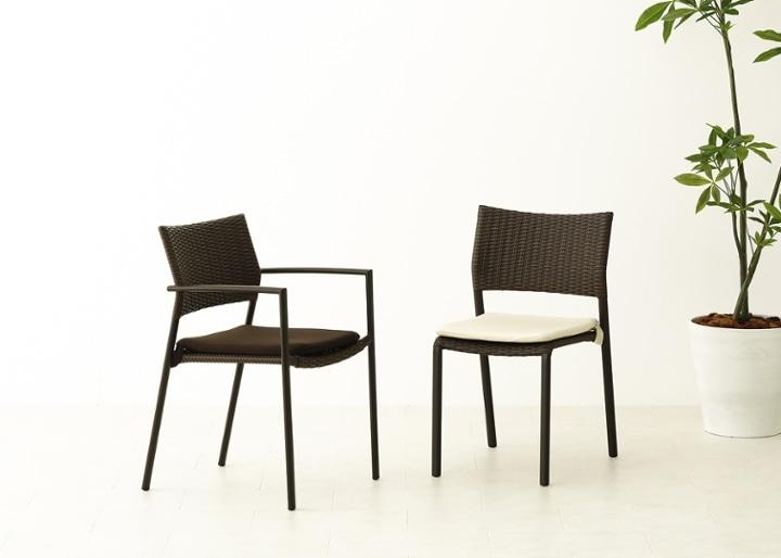 ガーデン・スタッキング・アーム/チェアv02用座面クッション:画像1