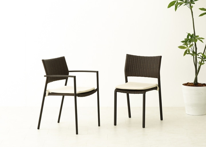 ガーデン・スタッキング・アーム/チェアv02用座面クッション:画像4