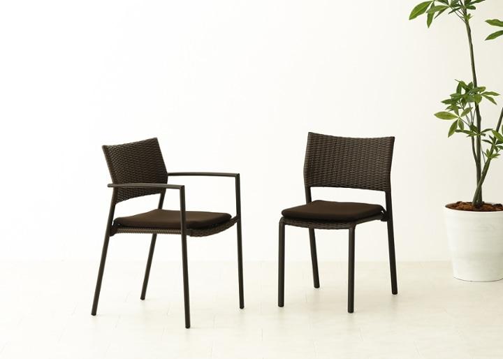 ガーデン・スタッキング・アーム/チェアv02用座面クッション:画像5