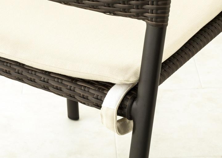 ガーデン・スタッキング・アーム/チェアv02用座面クッション:画像6