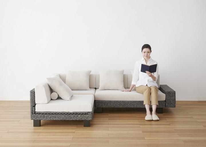 ケイ・ローソファ v03 コーナーセット (ヒヤシンスDG):画像27
