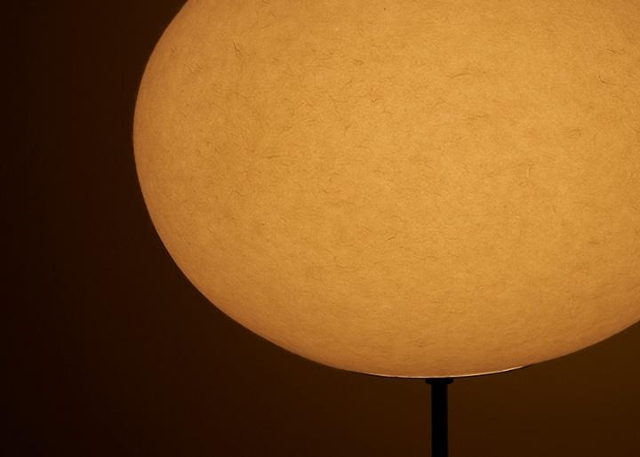 立体和紙 Moon フロアーランプ:画像10