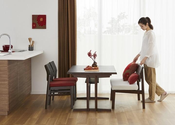 モク・ローダイニングテーブル 1500:画像16