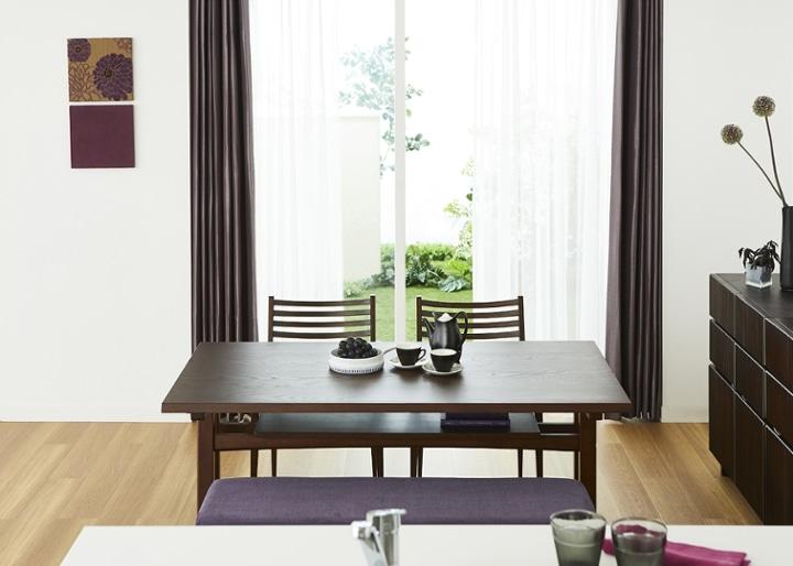 モク・ローダイニングテーブル 1500:画像3