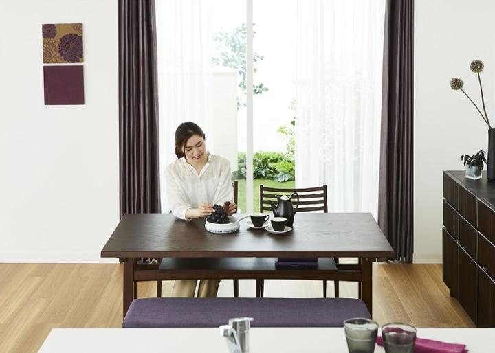 モク・ローダイニングテーブル 1500:画像4