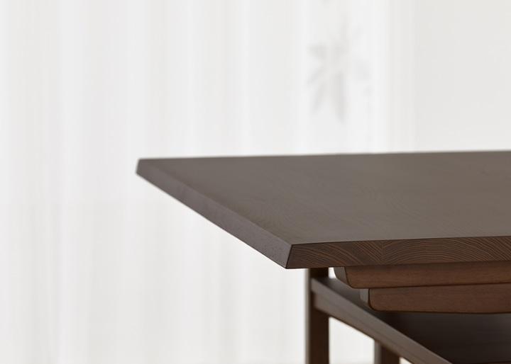 モク・ローダイニングテーブル 1200:画像19