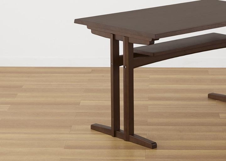 モク・ローダイニングテーブル 1200:画像20
