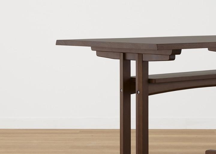 モク・ローダイニングテーブル 1200:画像23