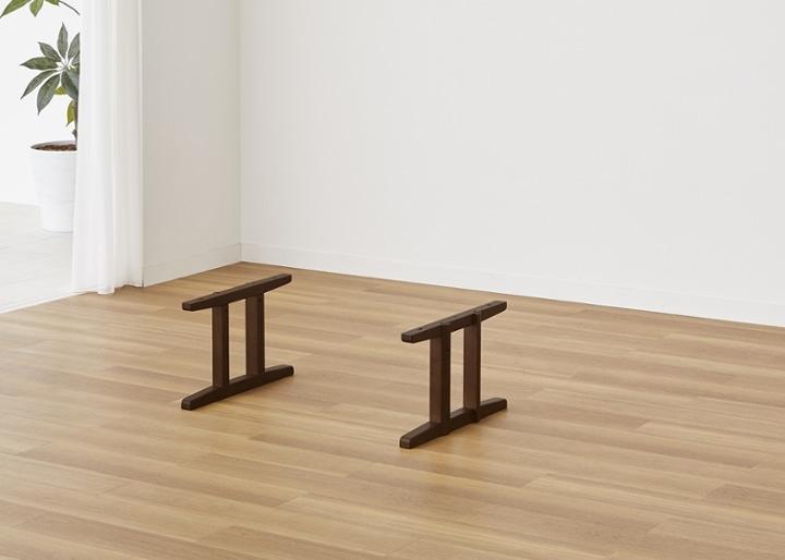 モク・ローテーブル 1200用脚:画像1