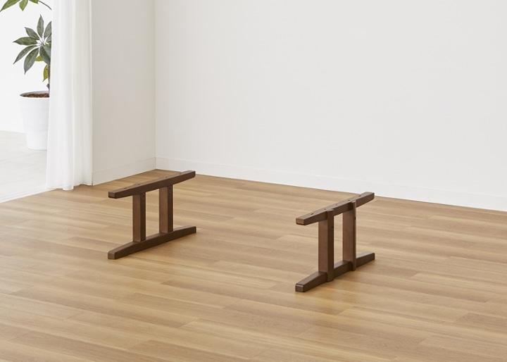 モク・ローテーブル 1500用脚 (GB):画像1