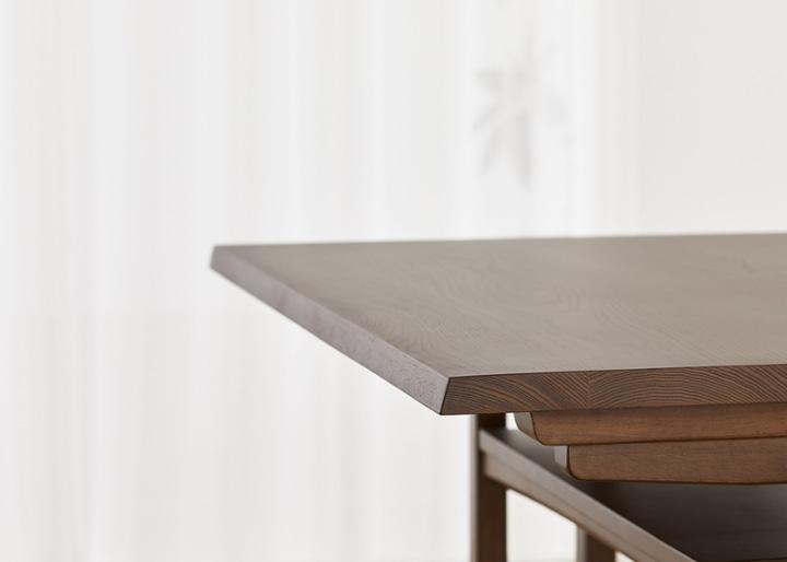 モク・ローダイニングテーブル 1200 (GB):画像17