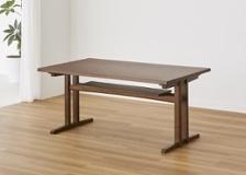 モク・ローダイニングテーブル 1500 H670 外脚 (GB)