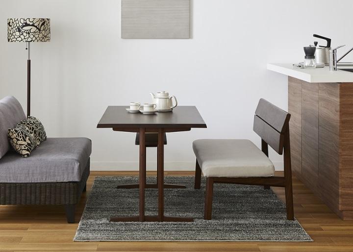 モク・ソファダイニングテーブル 1200:画像16