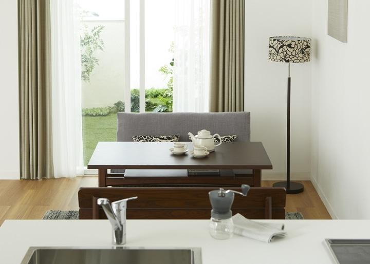 モク・ソファダイニングテーブル 1200:画像17