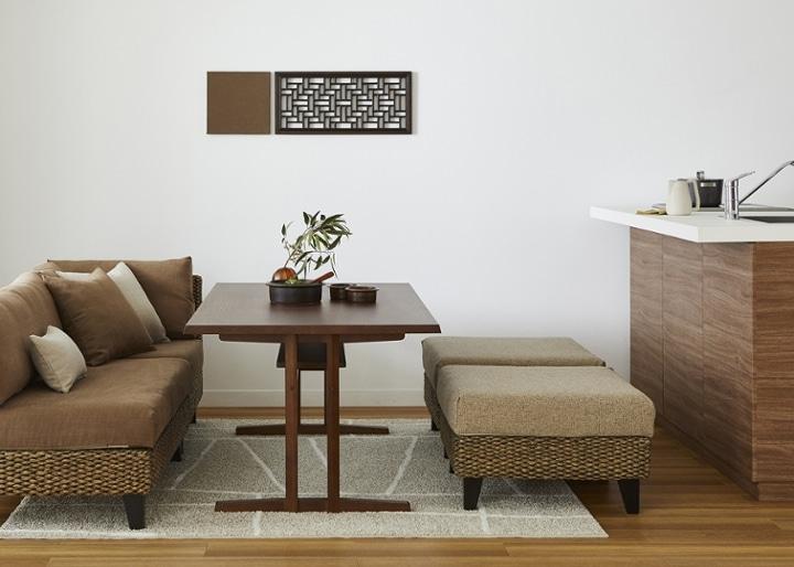 モク・ソファダイニングテーブル 1500 (GB):画像12