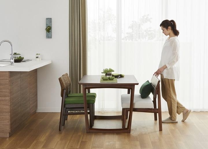 セイル・ダイニングテーブル 1600 (GB):画像20