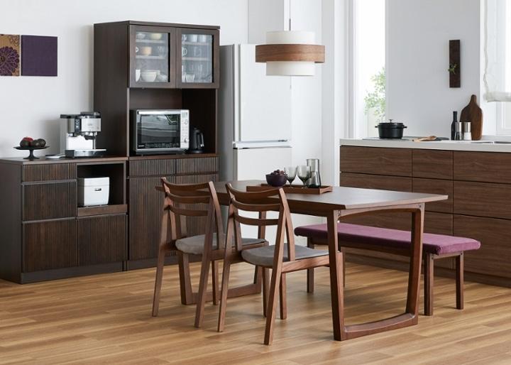 セイル・ダイニングテーブル 1600 (GB):画像21