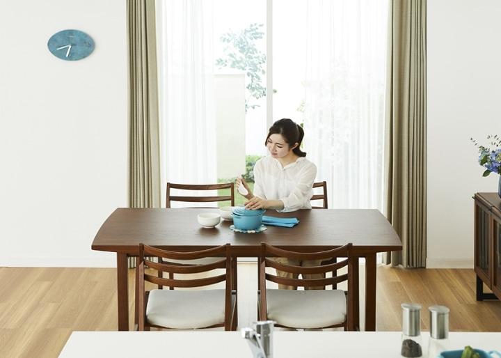 セイル・ダイニングテーブル 1600 (GB):画像4