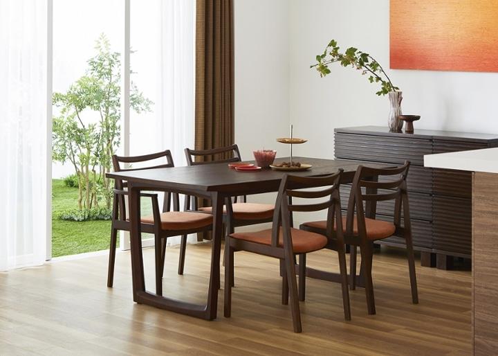 セイル・ダイニングテーブル 1600:画像1