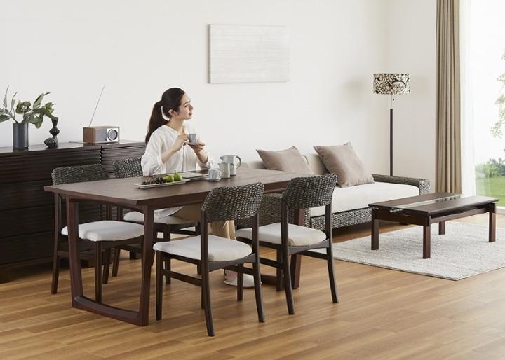 セイル・ダイニングテーブル 1600:画像15