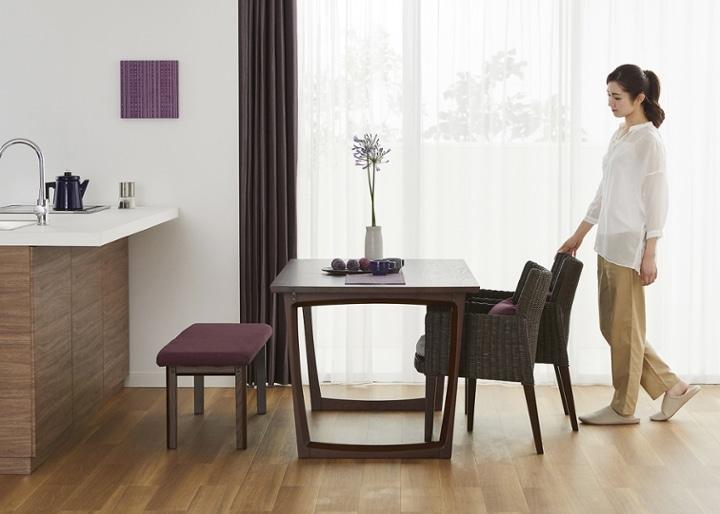セイル・ダイニングテーブル 1600:画像17