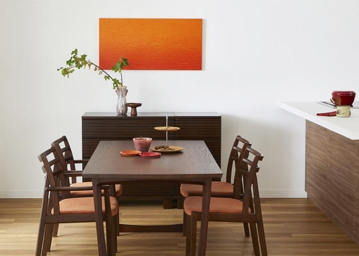 セイル・ダイニングテーブル 1600:画像2