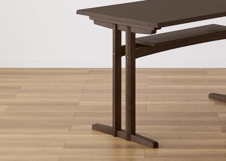 モク・ダイニングテーブル 1200:画像21