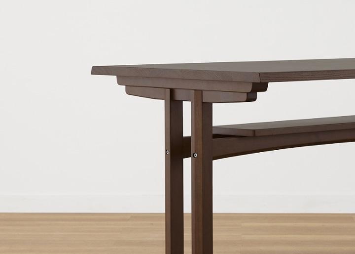モク・ダイニングテーブル 1200:画像25