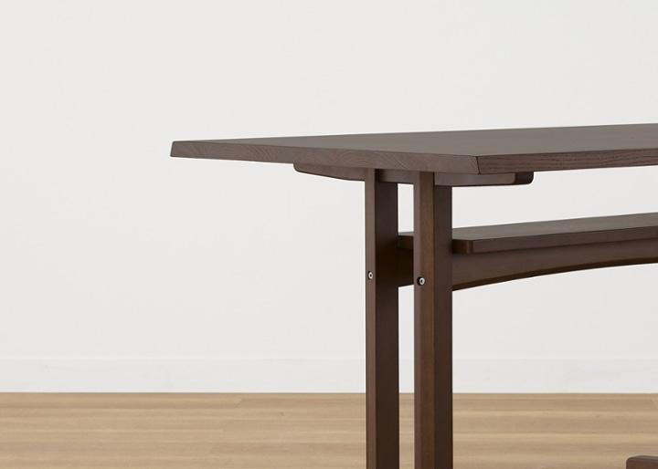 モク・ダイニングテーブル 1200:画像27