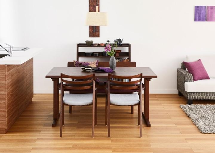 モク・ダイニングテーブル 1500:画像13