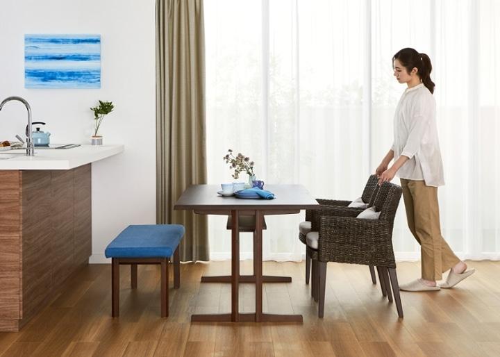 モク・ダイニングテーブル 1500:画像16