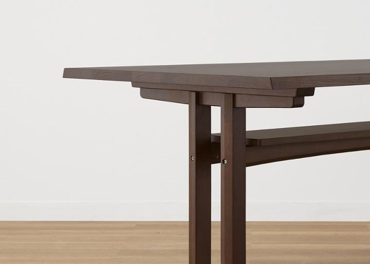 モク・ダイニングテーブル 1500:画像26