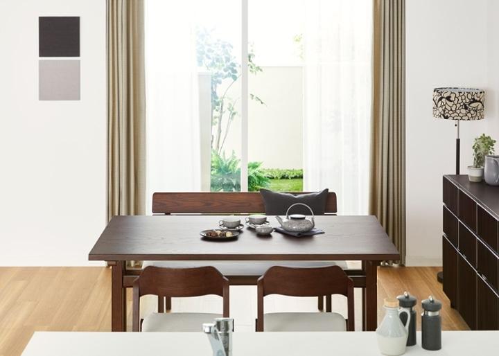 モク・ダイニングテーブル 1500:画像3