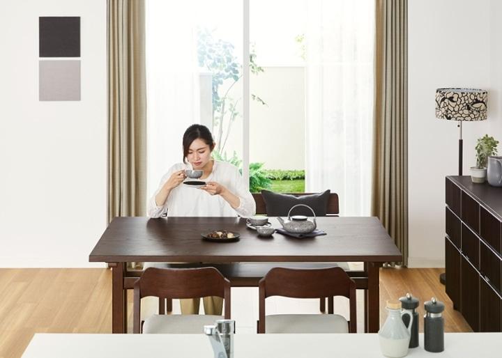 モク・ダイニングテーブル 1500:画像4