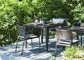 ガーデン・ダイニングテーブル 900×900:画像1