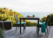ガーデン・ダイニングテーブル 900×900