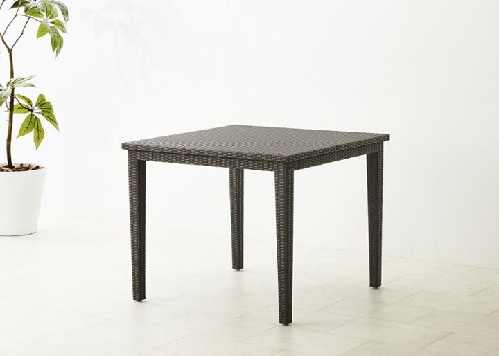 ガーデン・ダイニングテーブル 900×900:画像7