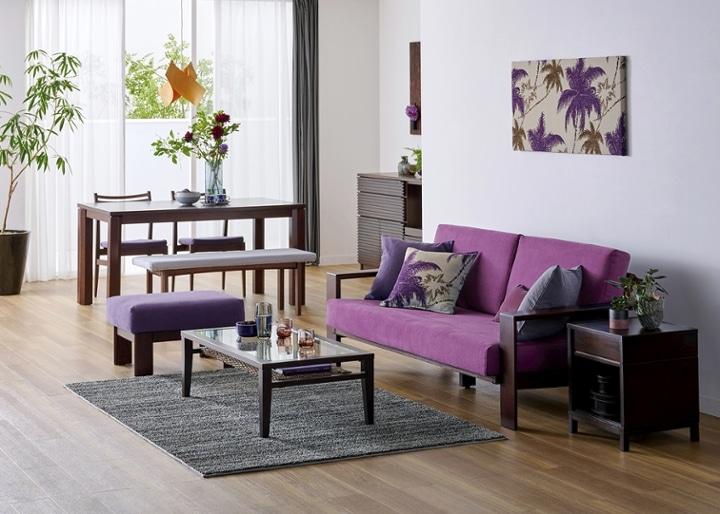 ウッド・ソファv02 オットマン:画像15