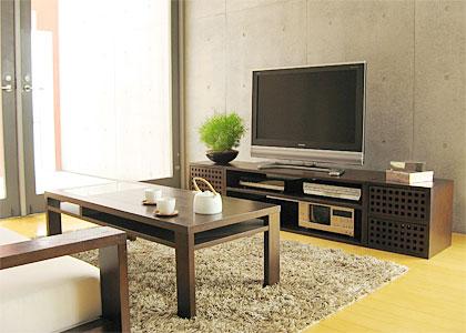 【販売終了】キューブ・テレビボードv01:画像1