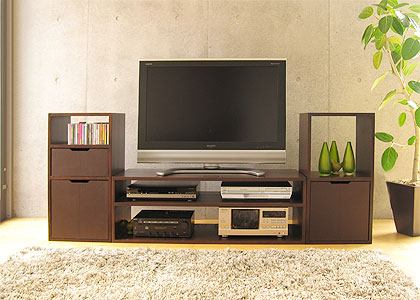【販売終了】キューブ・テレビボードv01:画像3