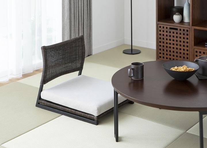 座椅子 (ラタン):画像1