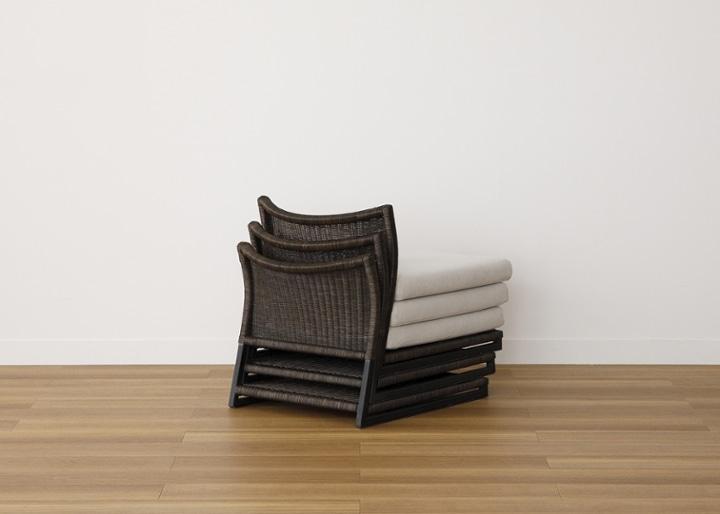座椅子 (ラタン):画像24