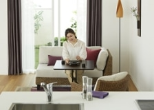 カフェ・テーブルv04