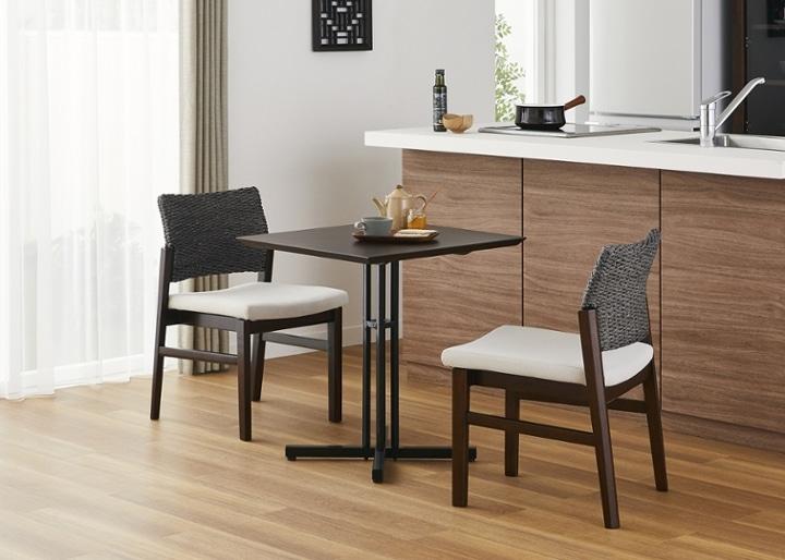カフェ・テーブルv03 セット チェア×2:画像10