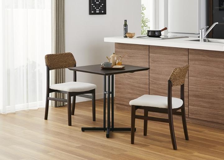 カフェ・テーブルv03 セット チェア×2:画像12