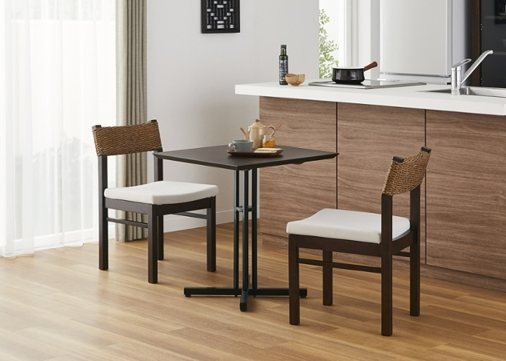 カフェ・テーブルv03 セット チェア×2:画像15