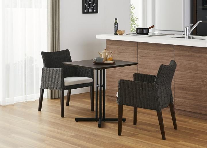 カフェ・テーブルv03 セット チェア×2:画像16