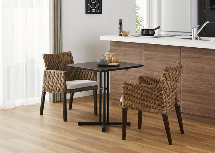 カフェ・テーブルv03 セット チェア×2:画像17